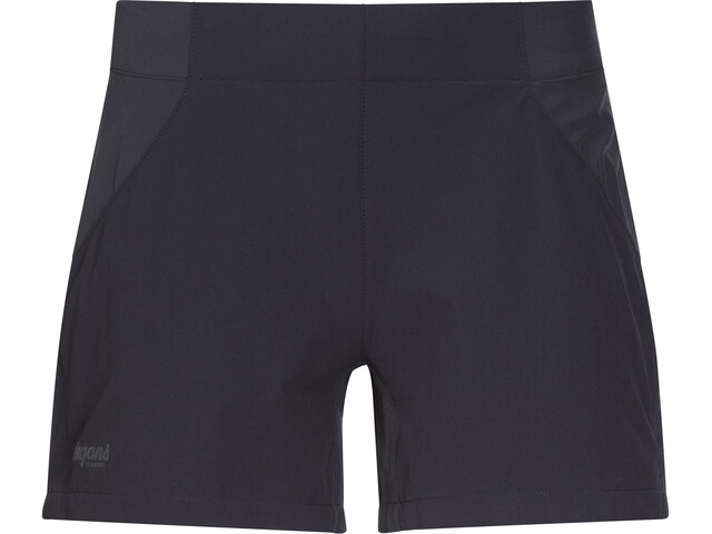 Bergans Fløyen Shorts Dam black/solid charcoal